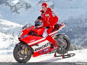 Nicky Haiden Ducati Desmosedici