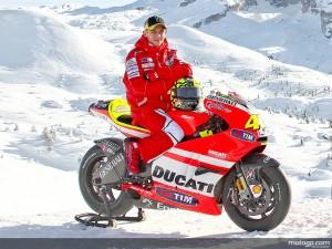 Valentino Rossi Ducati Desmosedici