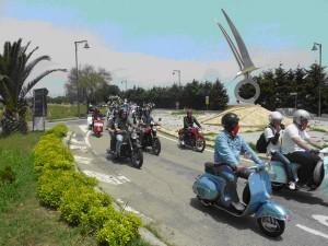 Motoraduno Nazionale Epoca Strade Blu