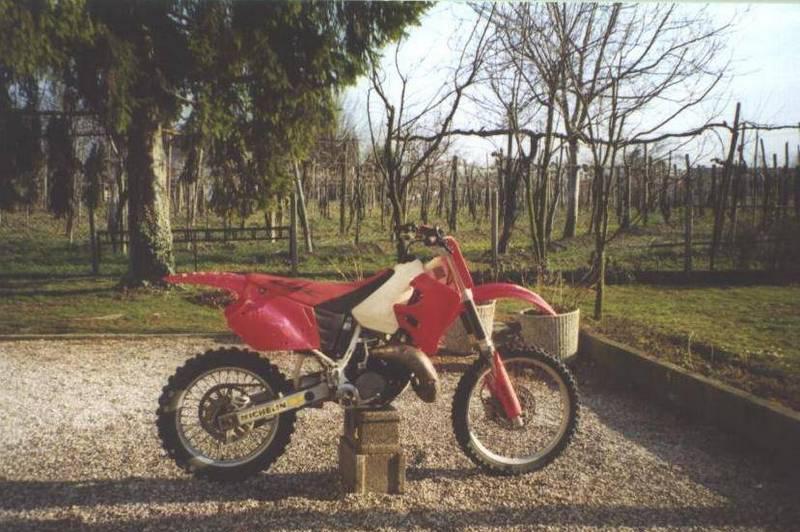 BikersOnWeb Honda CR 125 BANCHIERE