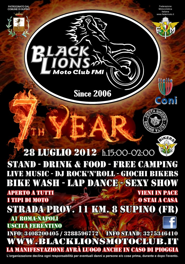 Black Lions 7 Year